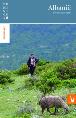 Boekomslag Dominicus Landenreeks Albanië met link naar bestelpagina
