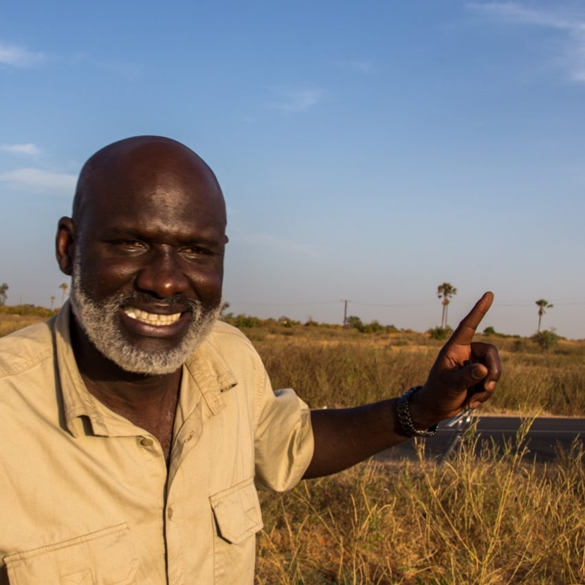 yogavakantie Senegal gids Laye