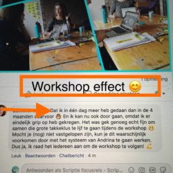 recensie workshop tackel je thesis